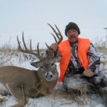 Snowy whitetail hunt