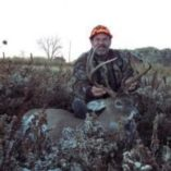 Successful whitetail deer hunt