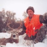A snowy whitetail hunt