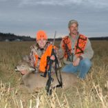 Whitetail deer hunters